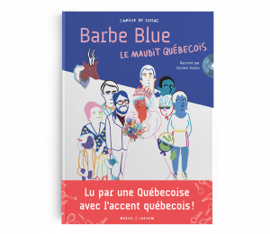BARBE BLUE BLANC