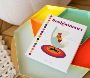 Livre imagier enfant design Designimaux