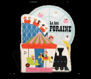 Imagier bébé carton La Fête foraine