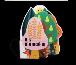 Livre imagier bébé carton La Forêt