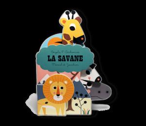 Livre imagier bébé La Savane
