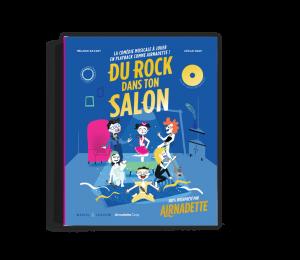 Livre CD pour Enfant Du Rock Dans Ton Salon