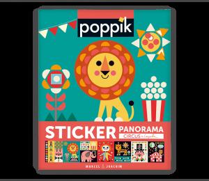 Activité Poppik Stickers Poppik Circus