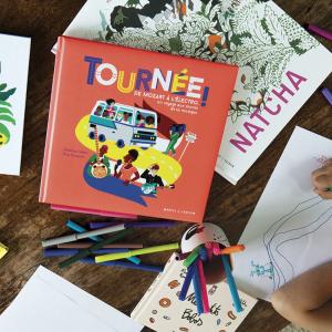 Dessins et livres enfant Tournée !