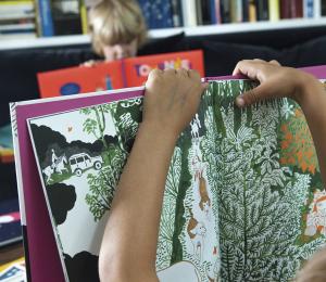 Extrait Livre Géant pour Enfant Natcha
