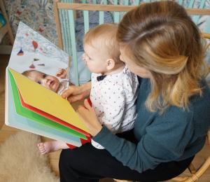 Livre miroir pour bébé