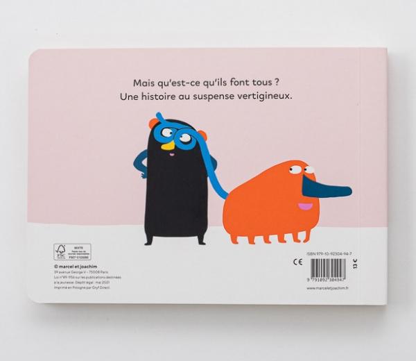 livre enfants cartonné mais ils font quoi elo charly delwart quatrieme de couverture